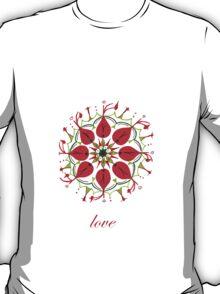 love mandala T-Shirt