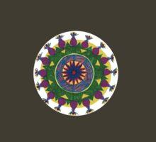 chakras mandala by anastasia papadouli