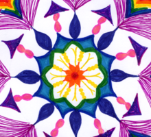 bliss mandala Sticker