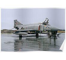 McDonnell F-4M Phantom FGR.2 XV423/D at RAF Stanley Poster