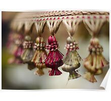 Lamp Shade and Dancing Tassels Poster