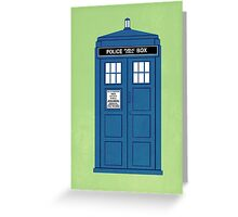 DOCTOR WHO. Greeting Card