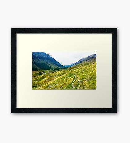 Ennerdale, Lake District National Park, UK Framed Print