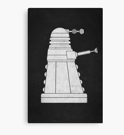 DOCTOR WHO - EXTERMINATE! Canvas Print
