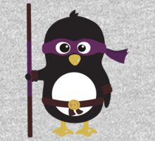 Penguin Ninja Donatello One Piece - Long Sleeve