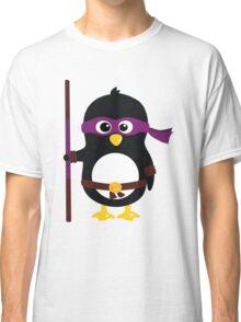 Penguin Ninja Donatello Classic T-Shirt