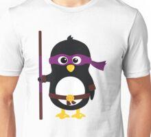Penguin Ninja Donatello Unisex T-Shirt