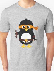 Penguin Ninja Michael Angelo T-Shirt