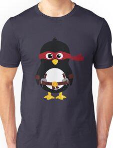 Penguin Ninja Raphaello Unisex T-Shirt