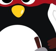 Penguin Ninja Raphaello Sticker