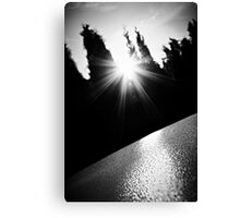 The triumph of light over darkness Canvas Print