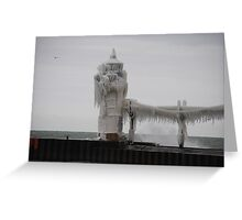 St Joseph North Pier Lighthouse - 27 Greeting Card