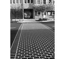 Crosswalk in Geneva, New York Photographic Print