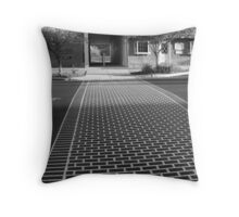 Crosswalk in Geneva, New York Throw Pillow