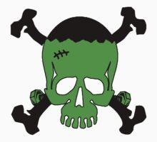 Frankenstein Skull by shakeoutfitters