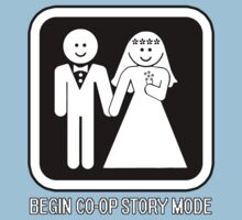Game Over Wedding Shirt Parody - Co-Op Mode by xnmex
