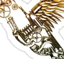 Steampunk Humming Bird Sticker