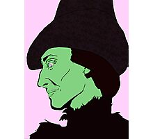 Profile of a Witch Photographic Print