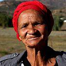 Namaqualand local Khoi-San woman by fourthangel