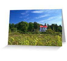 Grand Traverse Lighthouse Greeting Card