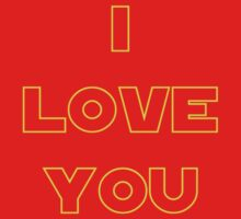 I love You (alternate) - SW Couples One Piece - Short Sleeve