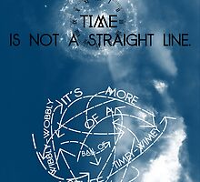 Time is Not a Straight Line by swansassady