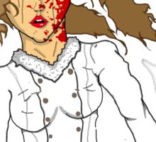 Russian snow white  Sticker
