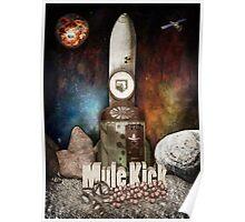 Zombies Mule Kick Perk Poster Poster