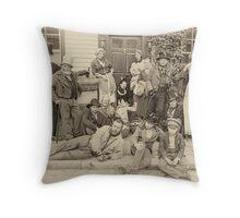 Victorian Life Throw Pillow