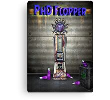 Zombies PhD Flopper Perk Poster Canvas Print