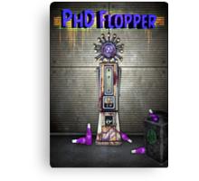 Zombies PhD Flopper Perk Poster Canvas Print