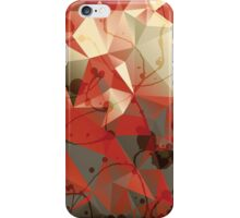 Modern Abstract Geometric Triangles Pattern iPhone Case/Skin
