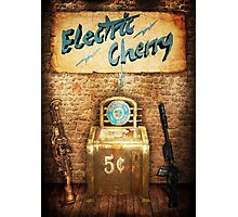 Zombies Electric Cherry Perk Poster Photographic Print