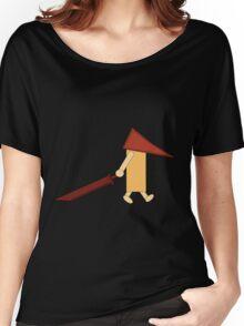Reddish Pyramid Head Women's Relaxed Fit T-Shirt