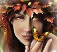Autumn Eyes by PineSinger