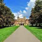 The Carriage Road to Schloss Favorit, Ludwigsburg - Germany by Bine