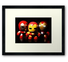 Iron Men Framed Print