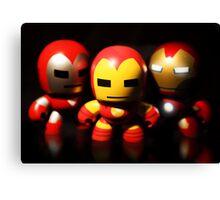 Iron Men Canvas Print