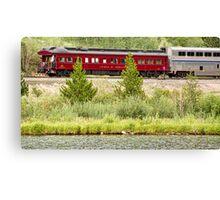 Cyrus K  Holliday Private Rail Car Canvas Print