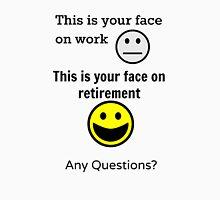 Retired Face Unisex T-Shirt