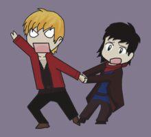 Merlin and Arthur by Blackthorn14