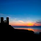 Reculver at Sunset by Nigel Jones