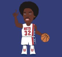 NBAToon of Julius Erving, player of New York Nets by D4RK0