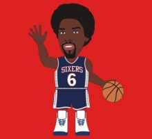 NBAToon of Julius Erving, player of Philadelphia 76ers by D4RK0