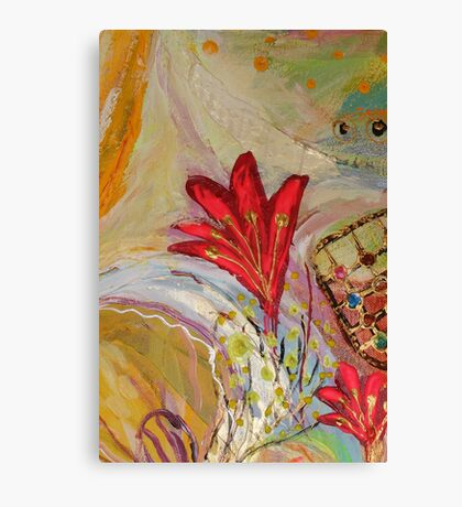 Original painting fragment 32 Canvas Print