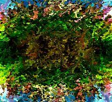 modern composition 17 by rafi talby by RAFI TALBY