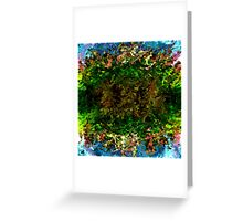 modern composition 17 by rafi talby Greeting Card
