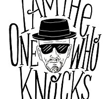 Heisenberg - I am the one who knocks by xtech