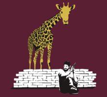 Joel vs Giraffe by chubbyblade