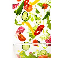 Healthy Salad  Photographic Print